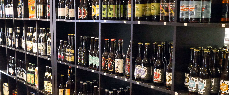 Paris, Bièrissime, Craft-Bier-Regal