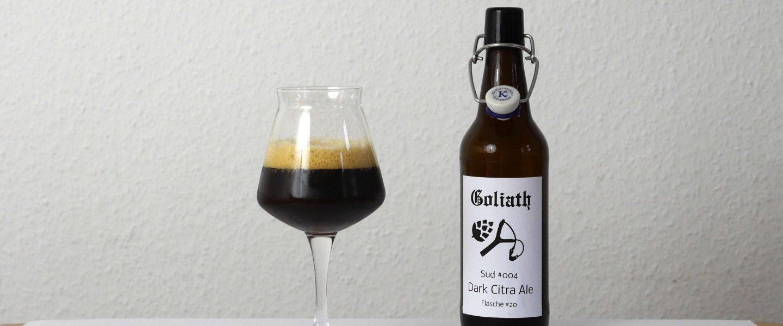 Verkostung Sud #004 Dark Citra Ale