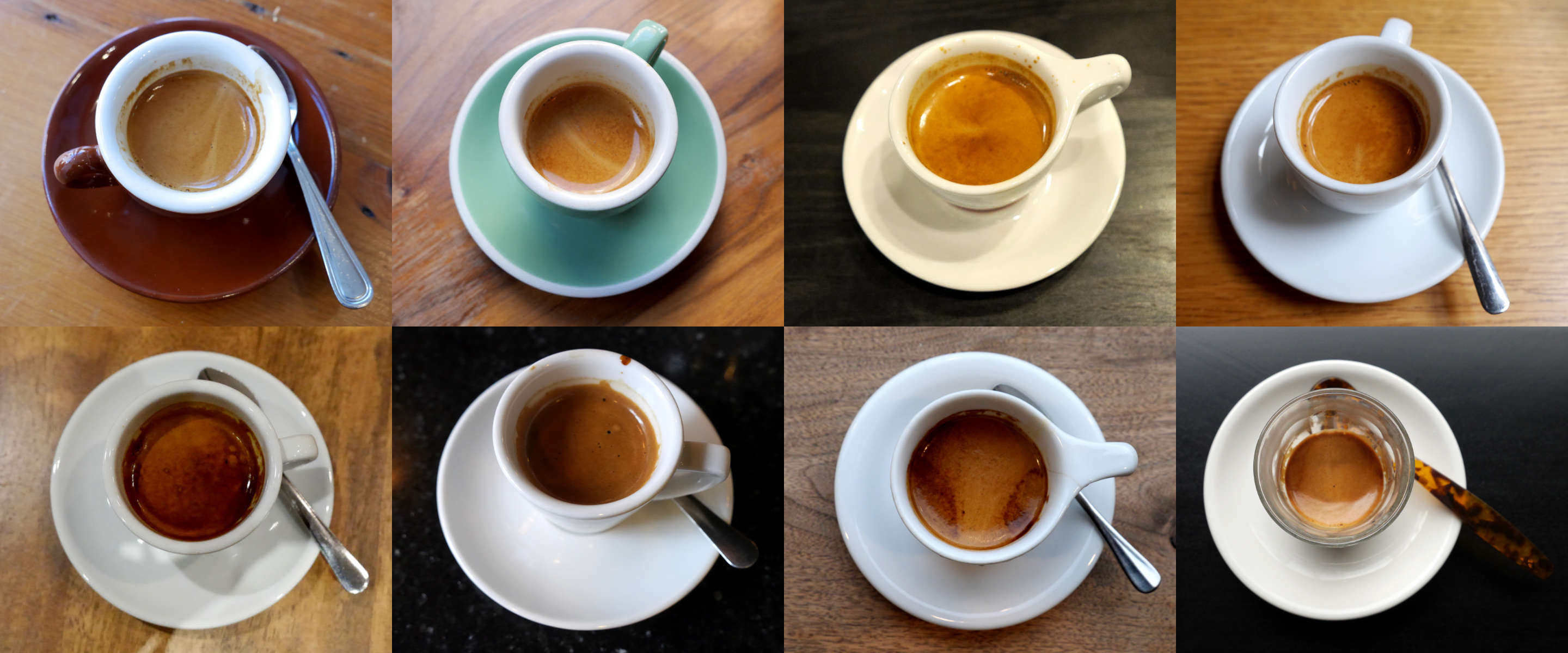 Espressos in New York City